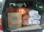 Transporting the produce