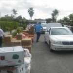 distributing kosher food pantry